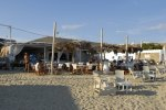 Aperanto Galazio - Mykonos Cafe with relaxing ambiance