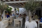 Aglio e Olio - Mykonos Restaurant with background music entertainment