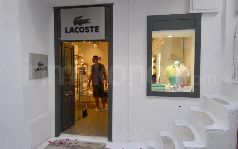 best service 8162c 0192e Lacoste Fashion Store   Shopping in Mykonos   Mykonos ...