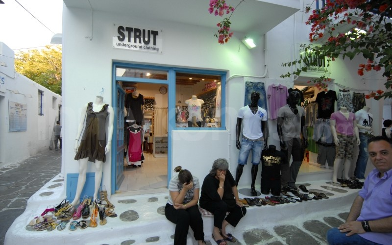 Strut Underground Clothing - _MYK0155a - Mykonos, Greece