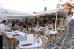Kostas - Mykonos Tavern serving lunch