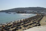 Platis Gialos Beach - Mykonos Beach with restaurant facilities
