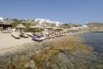 Agios Ioannis Beach - Mykonos Beach with sunbeds facilities
