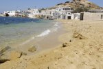Divounia Beach - Mykonos Beach with remote location facilities
