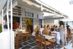 Fanis - Mykonos Fast Food Place with fast food menu style