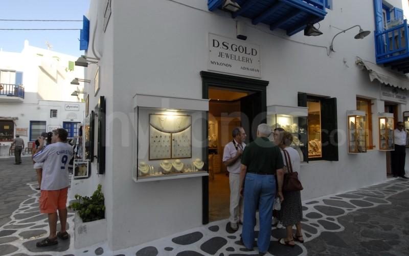 Shopping In Mykonos Mykonos Cyclades Greece