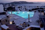 Vencia Boutique Hotel - Mykonos Hotel with a sun lounge