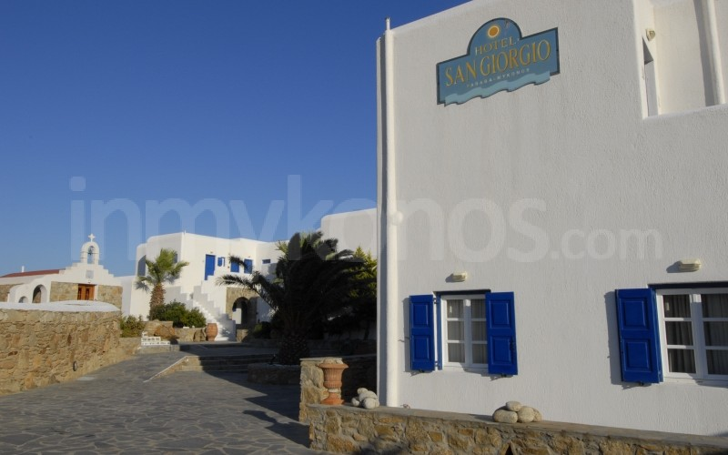 san giorgio hotel sleep in mykonos mykonos cyclades. Black Bedroom Furniture Sets. Home Design Ideas