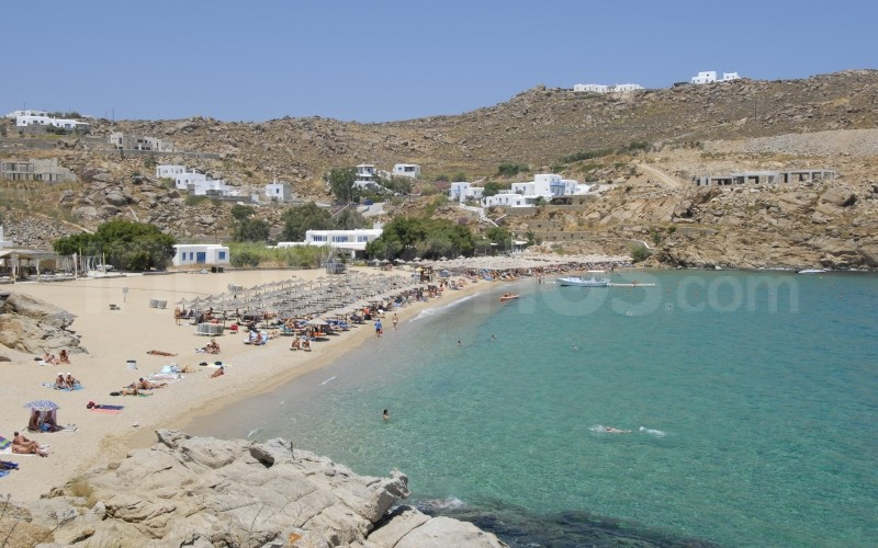 Super Paradise Beach What To See Do In Mykonos Cyclades Greece